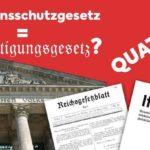 Naprostý šok: Německo má ve svém zákoně o prevenci a kontrole infekčních nemocí u lidí už léta paragraf, který legalizuje aerobní očkování…